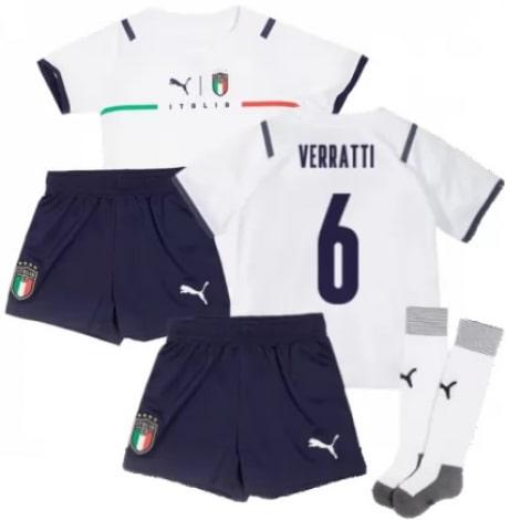 Детская четвертая форма Италии Вератти ЕВРО 2020-21