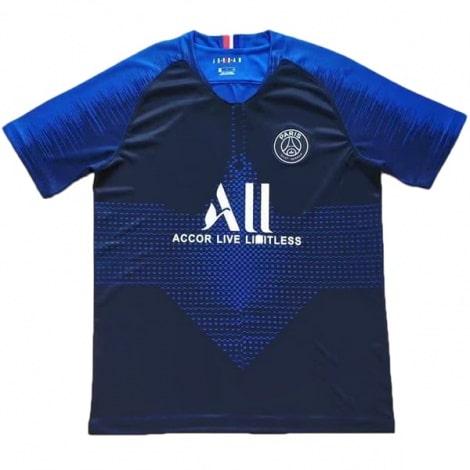 Сине-голубая тренировочная футболка ПСЖ 19-20