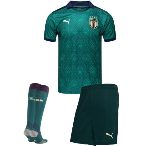Третий комплект детской формы Италии 2019-2020