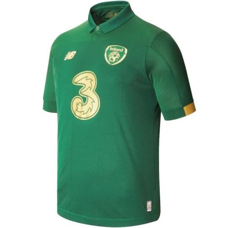 Домашняя игровая футболка сборной Ирландии на ЕВРО 2020