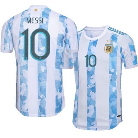 Домашняя игровая футболка сборной Аргентины 2019-2020