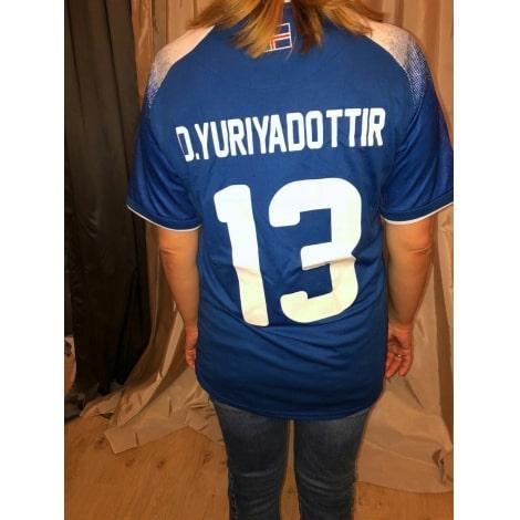 Синяя домашняя футболка сборной Исландии на чемпионат мира 2018