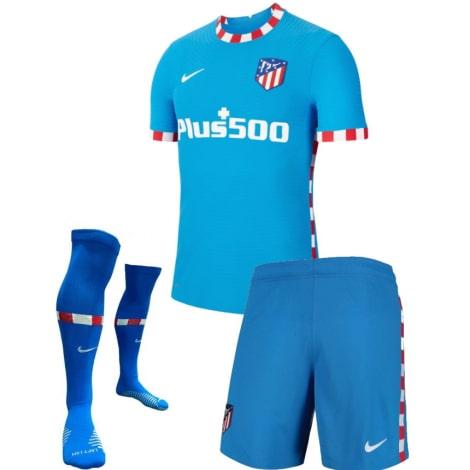 Детский комплект третьей формы Атлетико 2021-2022