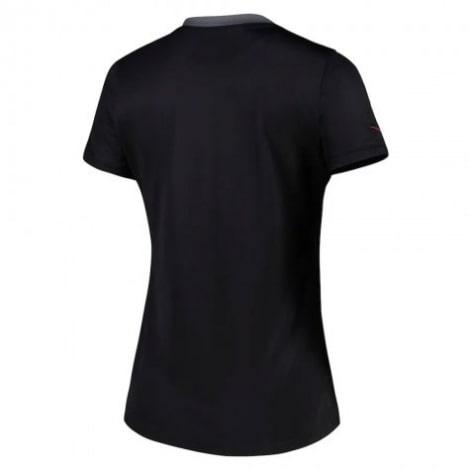 Женская третья футболка ПСЖ 2021-2022 сзади
