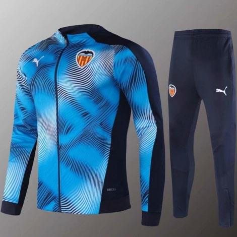 Синий тренировочный костюм Валенсия 2020-2021