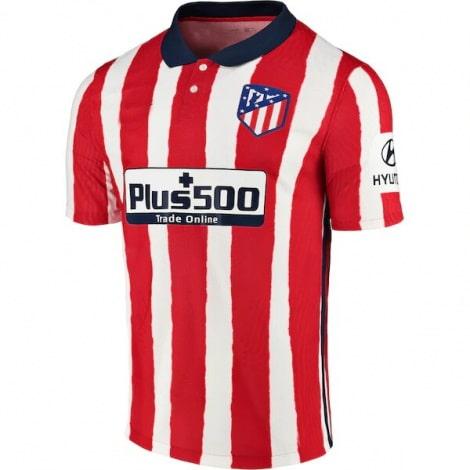 Детский комплект домашней формы Атлетико 2020-2021 футболка