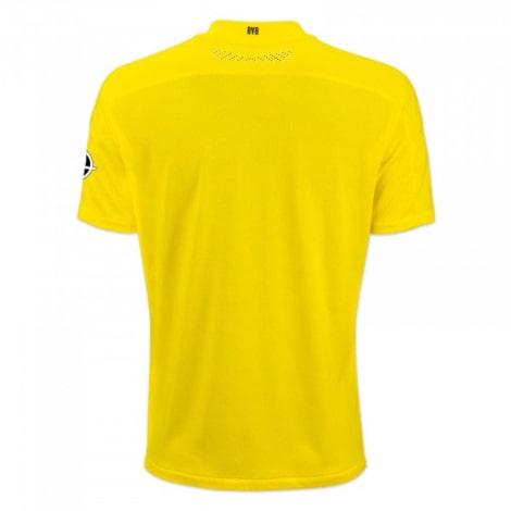 Домашняя игровая футболка Боруссии Дортмунд 2020-2021 сзади