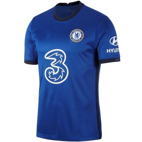 Комплект взрослой домашней формы Челси 2020-2021 футболка