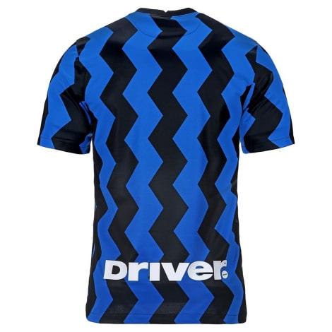 Комплект взрослой домашней формы Интер 2020-2021 футболка сзади