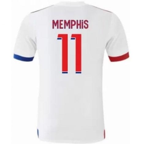Домашняя игровая футболка Лион MEMPHIS 20-21