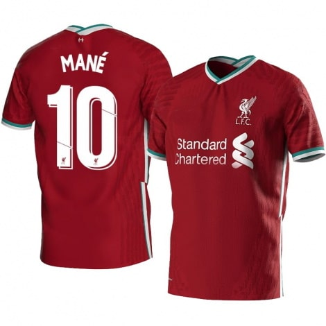 Домашняя футболка Ливерпуля 2020-2021 Садио Мане