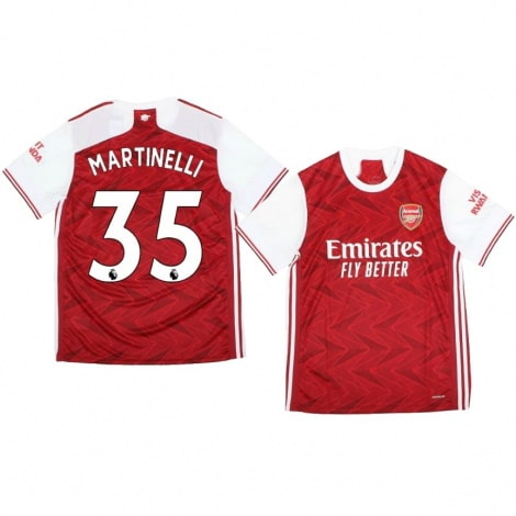 Домашняя футболка Арсенала Габриэл Мартинелли 2020-2021