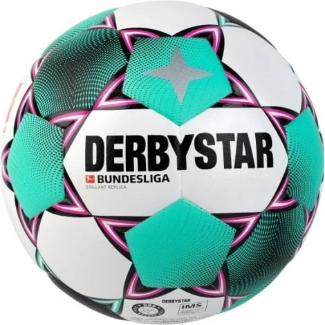 Бело зеленый мяч БундесЛиги по футболу 2020-2021