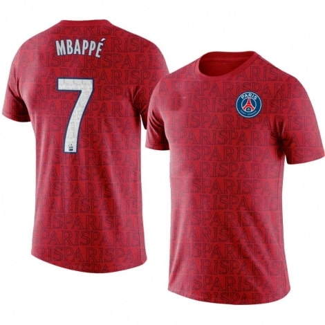Тренировочная футболка ПСЖ 2020-2021 Мбаппе