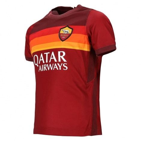 Комплект детской домашней формы Ромы 2020-2021 футболка сбоку