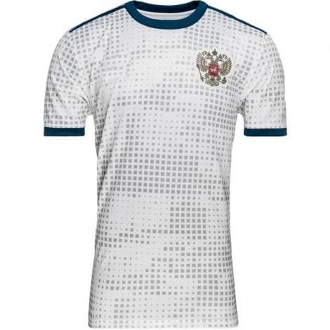 Гостевая футболка сборной России Артем Дзюба спереди