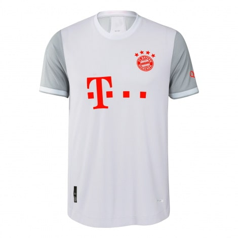 Гостевая аутентичная футболка Баварии 2020-2021