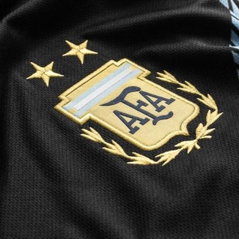 Гостевая футболка сборной Аргентины на ЧМ 2018 черная