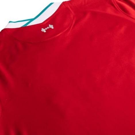 Детская домашняя футбольная форма Салах 2020-2021 футболка сзади