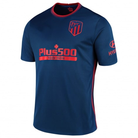 Взрослый комплект гостевой формы Атлетико 2020-2021 футболка