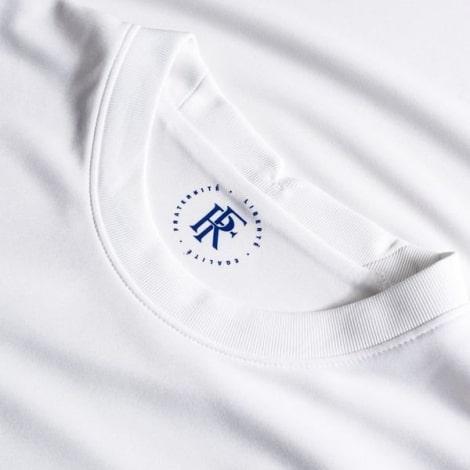 Женская гостевая футболка Франции на ЕВРО 2020-21 воротник