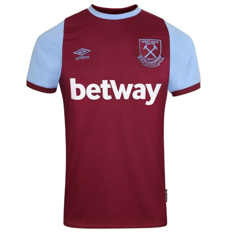 Комплект детской домашней формы Вест Хэм 2020-2021 футболка Лингард