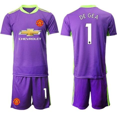 Вратарская фиолетовая форма Манчестер Юнайтед 20-21