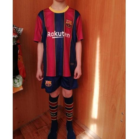 Комплект детской домашней формы Барселоны 2020-2021