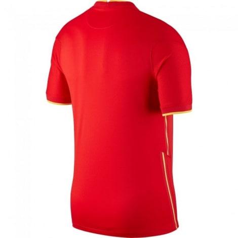 Домашняя футболка сборной Китая 2021-2022 сзади