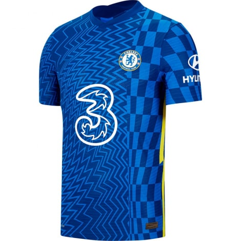 Домашняя аутентичная футболка Челси 2021-2022