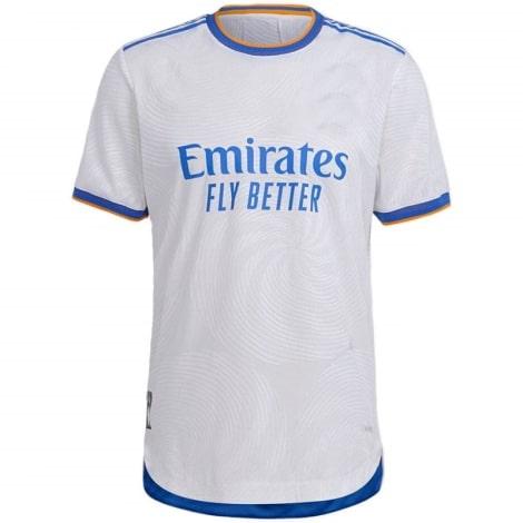 Домашняя игровая футболка Реал Мадрид 2021-2022 Серхио Рамос