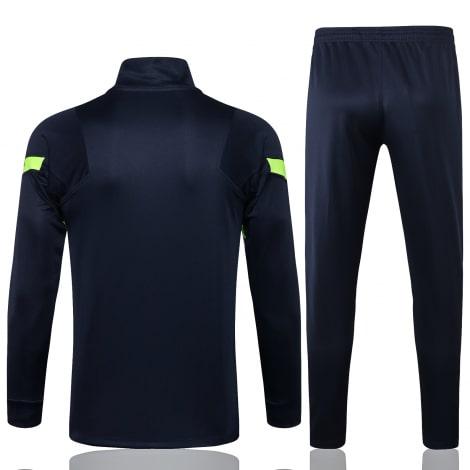 Темно-синий спортинвый костюм Тоттенхэма 2021-2022 сзади
