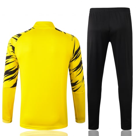 Желто-черный костюм Боруссии Дортмунд 2021-2022 сзади