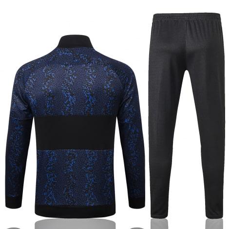 Темно-синий тренировочный костюм Интера 2021-2022 сзади