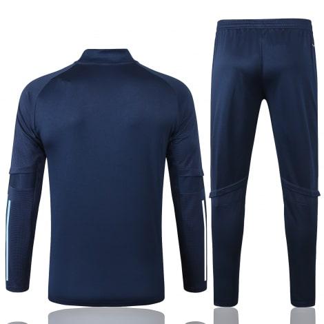 Синий спортивный костюм АЯКС 2021-2022 сзади