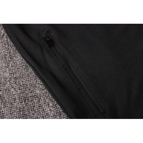 Черно-синий спортивный костюм Ювентуса 2021-2022 карман