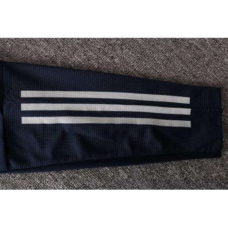 Синий спортивный костюм Ювентуса 2021-2022 рукав