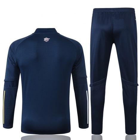 Синий спортивный костюм Арсенал 2021-2022 сзади
