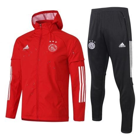 Красно-черный спортивный костюм АЯКС 2021-2022