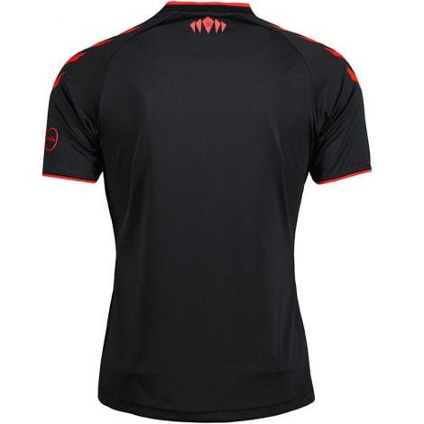 Гостевая игровая футболка Саутгемптон 2021-2022 сзади