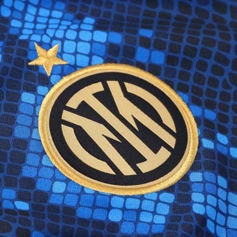 Домашняя игровая футболка Интера 2021-2022 логотип