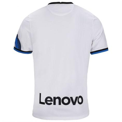 Гостевая игровая футболка Интера 2021-2022 сзади