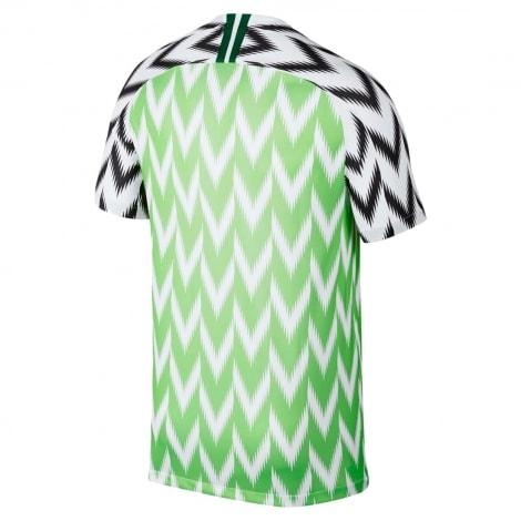Домашняя футболка сборной Нигерии на ЧМ 2018