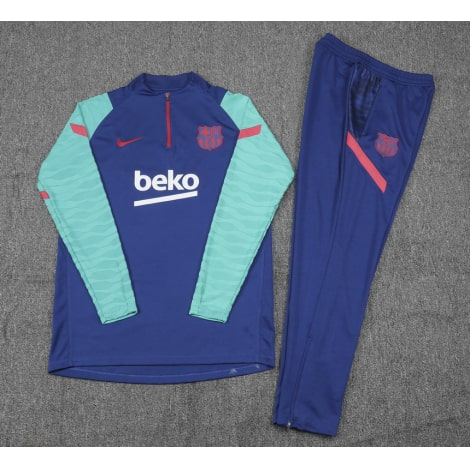 Сине-голубой костюм Барселоны 2021-2022
