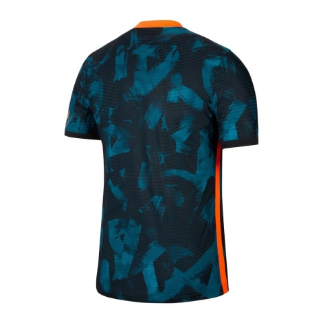Третья аутентичная футболка Челси 2021-2022 сзади