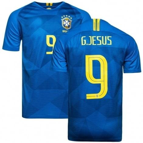 Футболка сборной Бразилии на ЧМ 2018 Габриэл Жезус