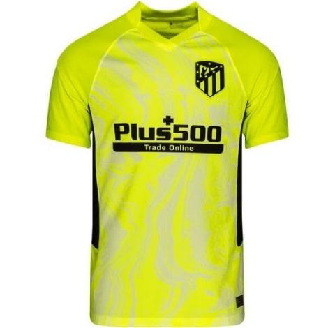 Взрослый комплект третьей формы Атлетико 2020-2021 футболка