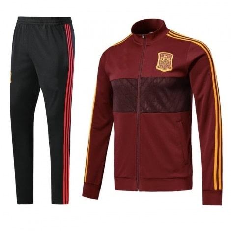 Тренировочный костюм сборной Испании по футболу 2018 олимпийка и штаны