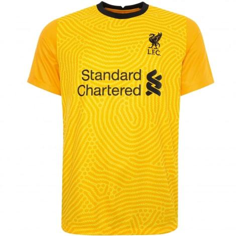 Вратарская гостевая футболка Ливерпуля 2020-2021