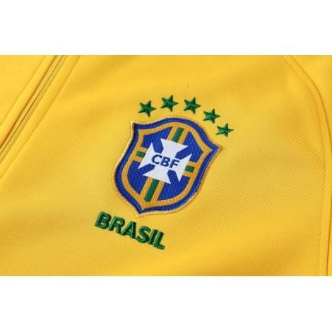 Спортивный костюм сборной Бразилии по футболу 2018 герб страны